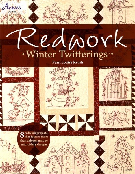 Redwork Winter Twitterings - Softcover