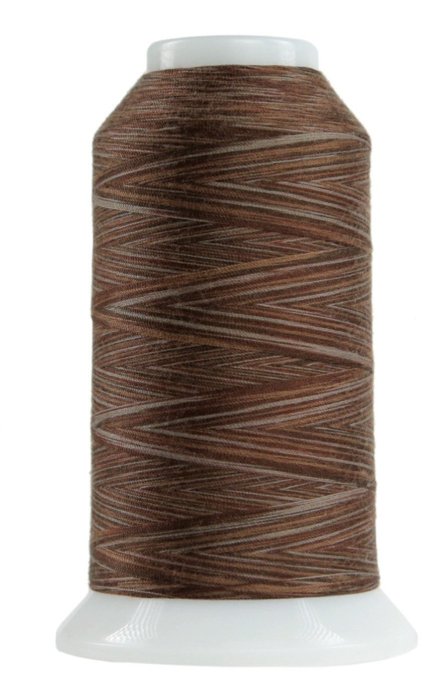 Omni Variegated Polyester Thread 40wt 2000yd Chocolate Pudding