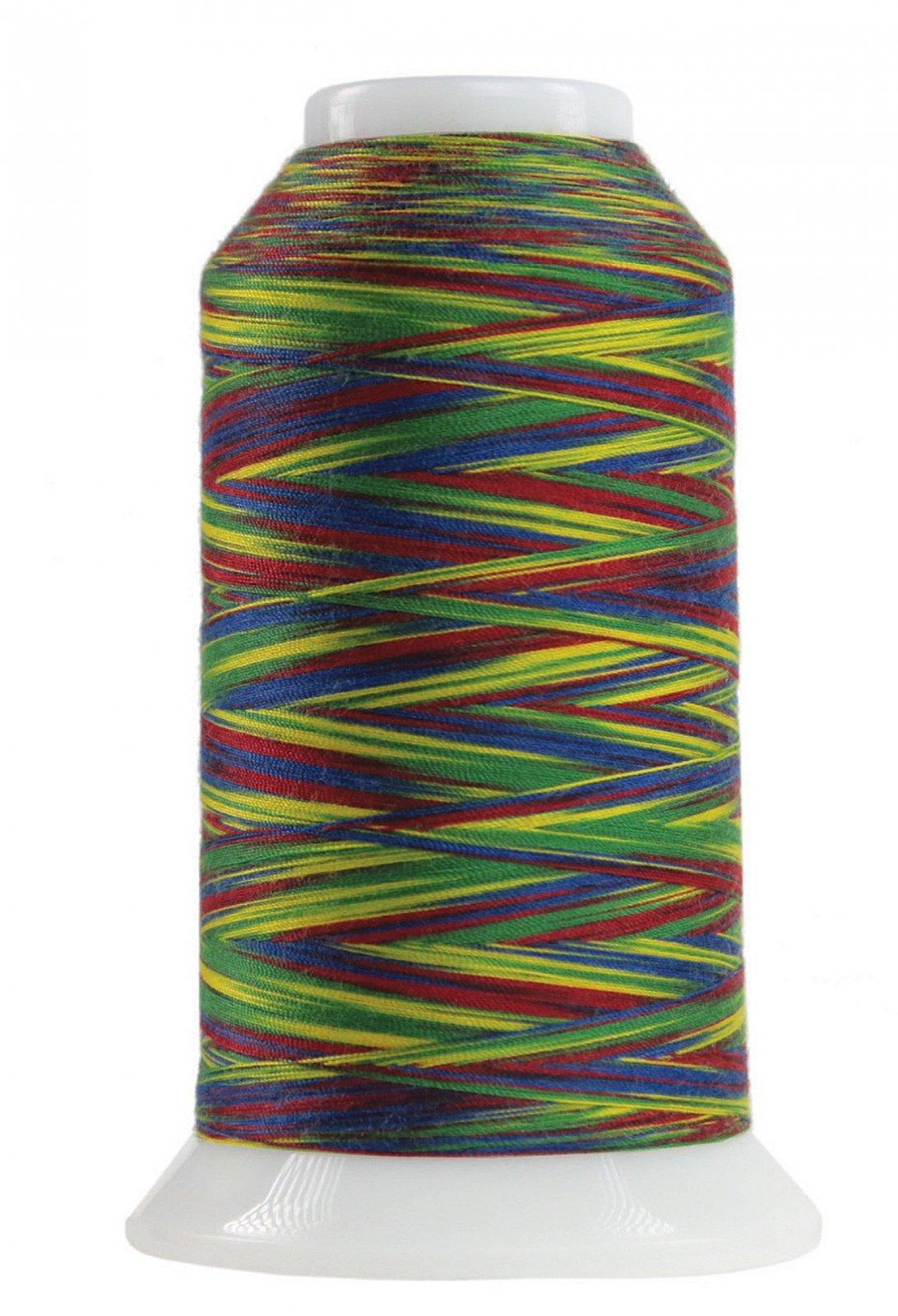 Omni Variegated Polyester Thread 40wt 2000yd Hooray