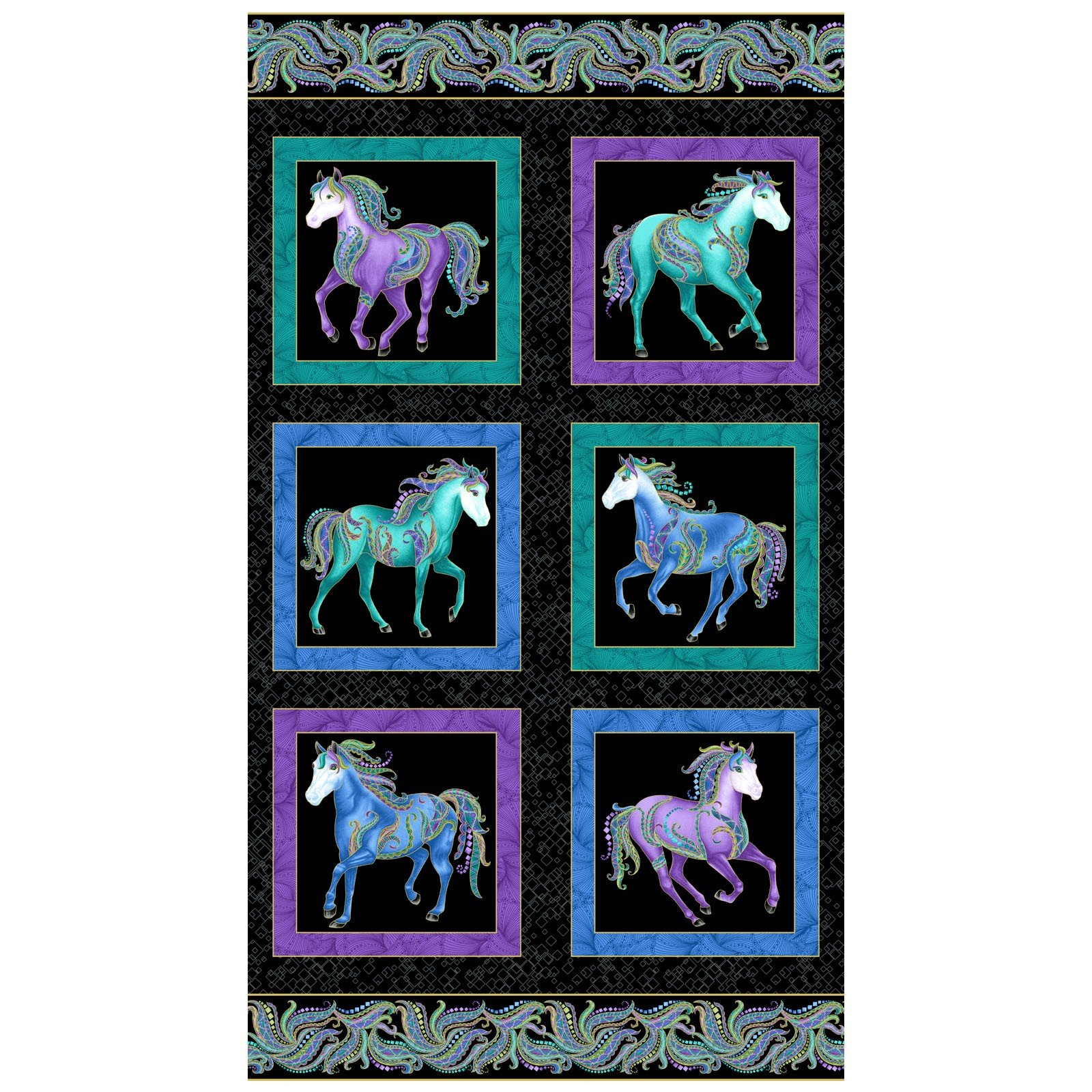 Horsen Around - 16850M-12