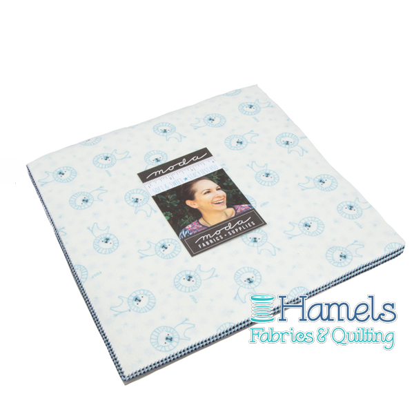 Soft and Sweet Flannel Blue Junior Layer Cake