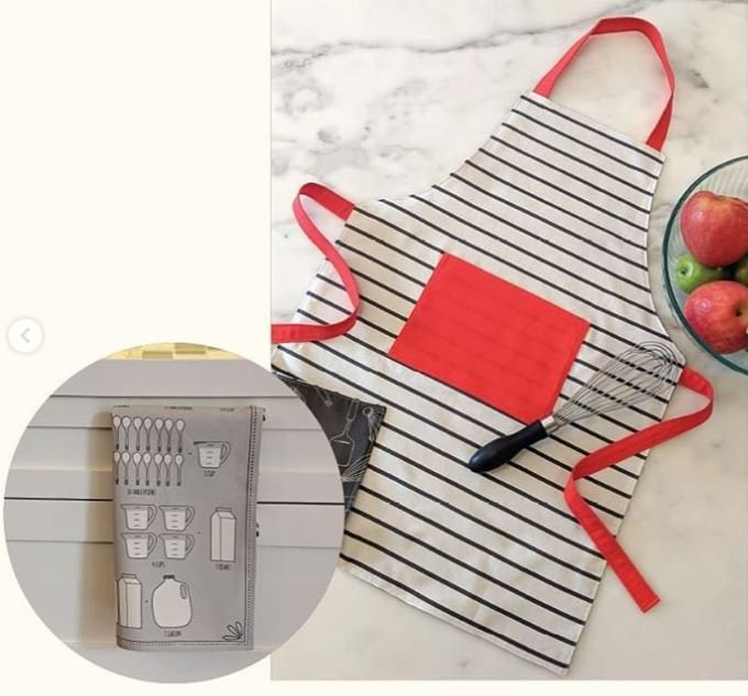 Cut Sew Create - Apron Tea Towel Panel