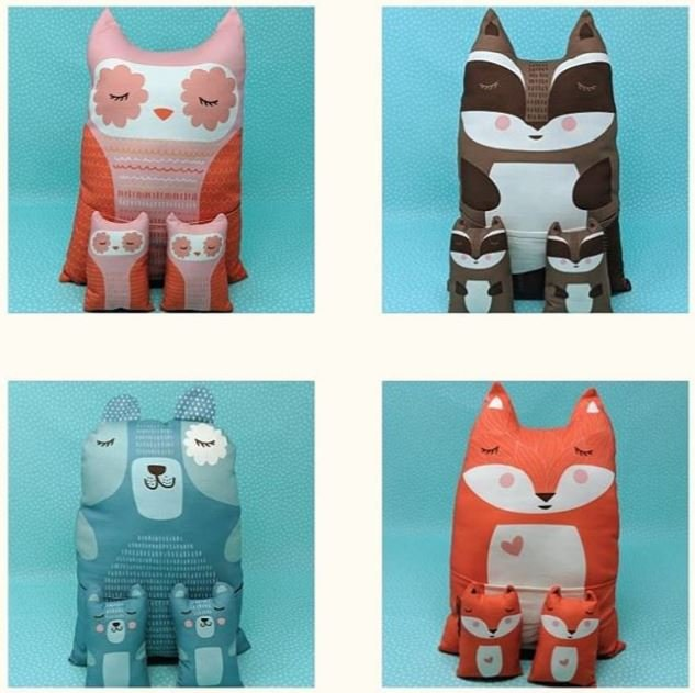 Cut Sew Create - Forest Animal Plushies
