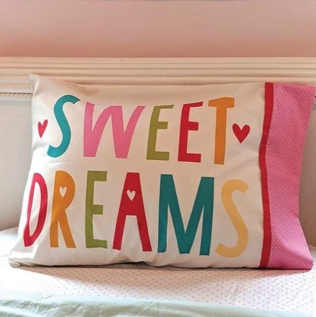 Cut Sew Create - Sweet Dreams Pillow Case Panel