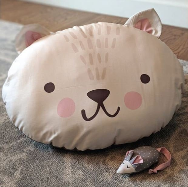 Cut Sew Create - Kitty Bed and Mouse Toy Panel