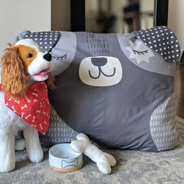 Cut Sew Create - Doggy Bed Toy & Scarf Panel