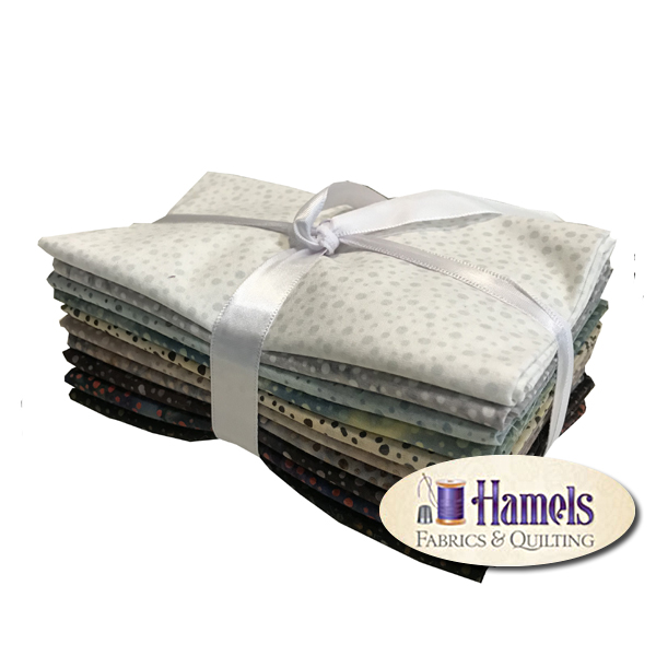 Dot Batiks - Ice Fat Quarter Bundle