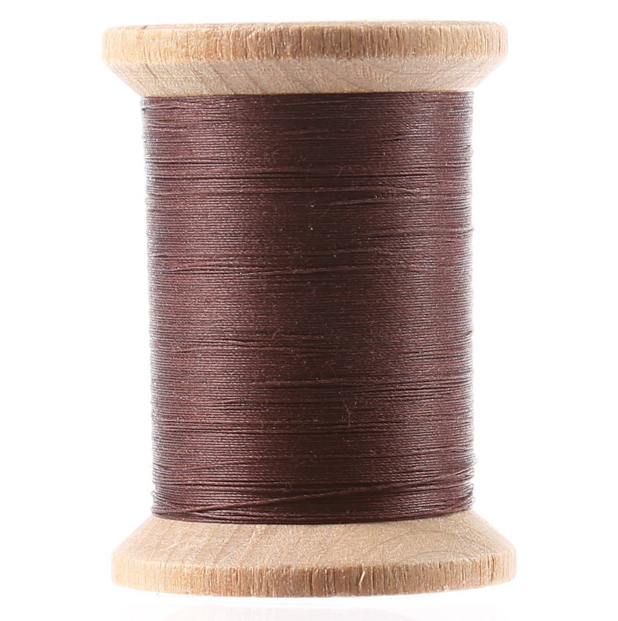 Cotton Hand Quilting Thread 3-ply T-40 400yds Brown