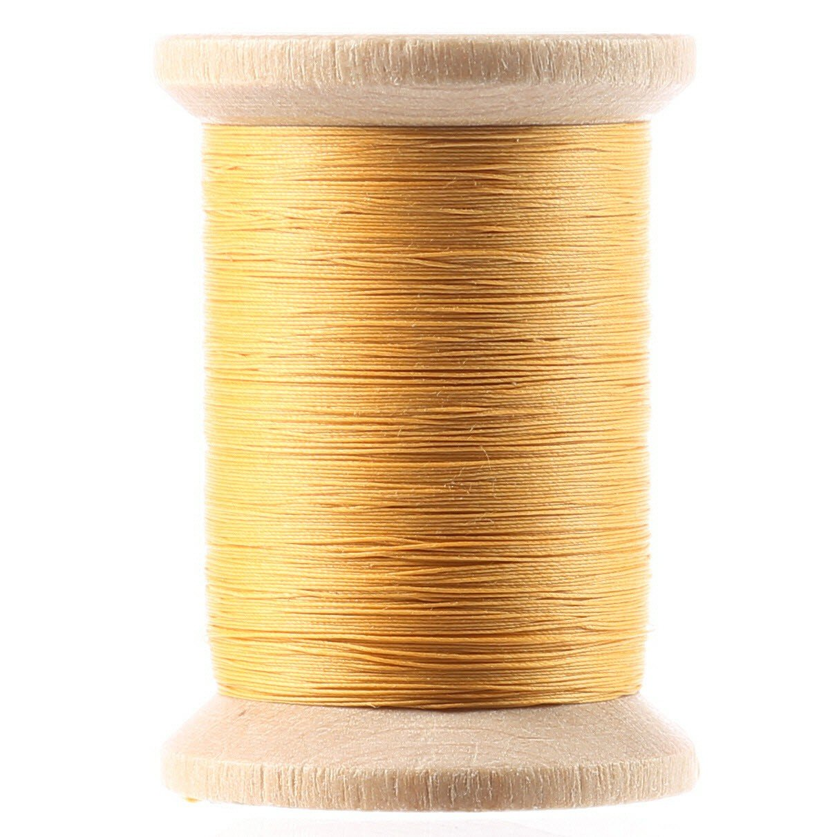 Cotton Hand Quilting Thread 3-ply T-40 400yds Gold