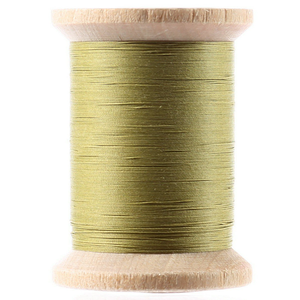 Cotton Hand Quilting Thread 3-ply T-40 400yds Spring Green