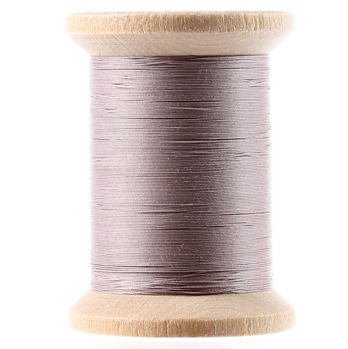 Cotton Hand Quilting Thread 3-ply T-40 400yds Grey