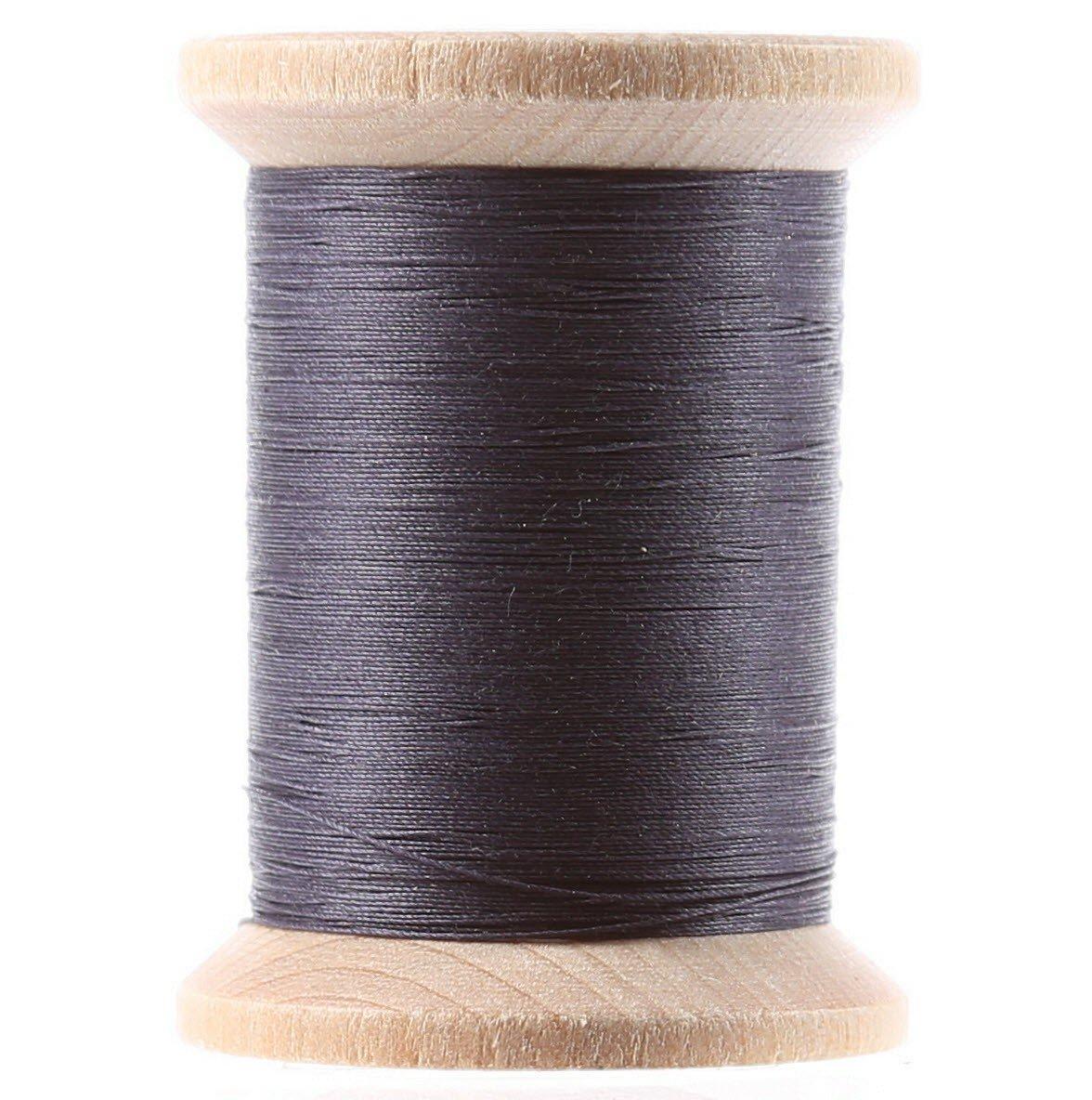 Cotton Hand Quilting Thread 3-ply T-40 400yds Dark Blue