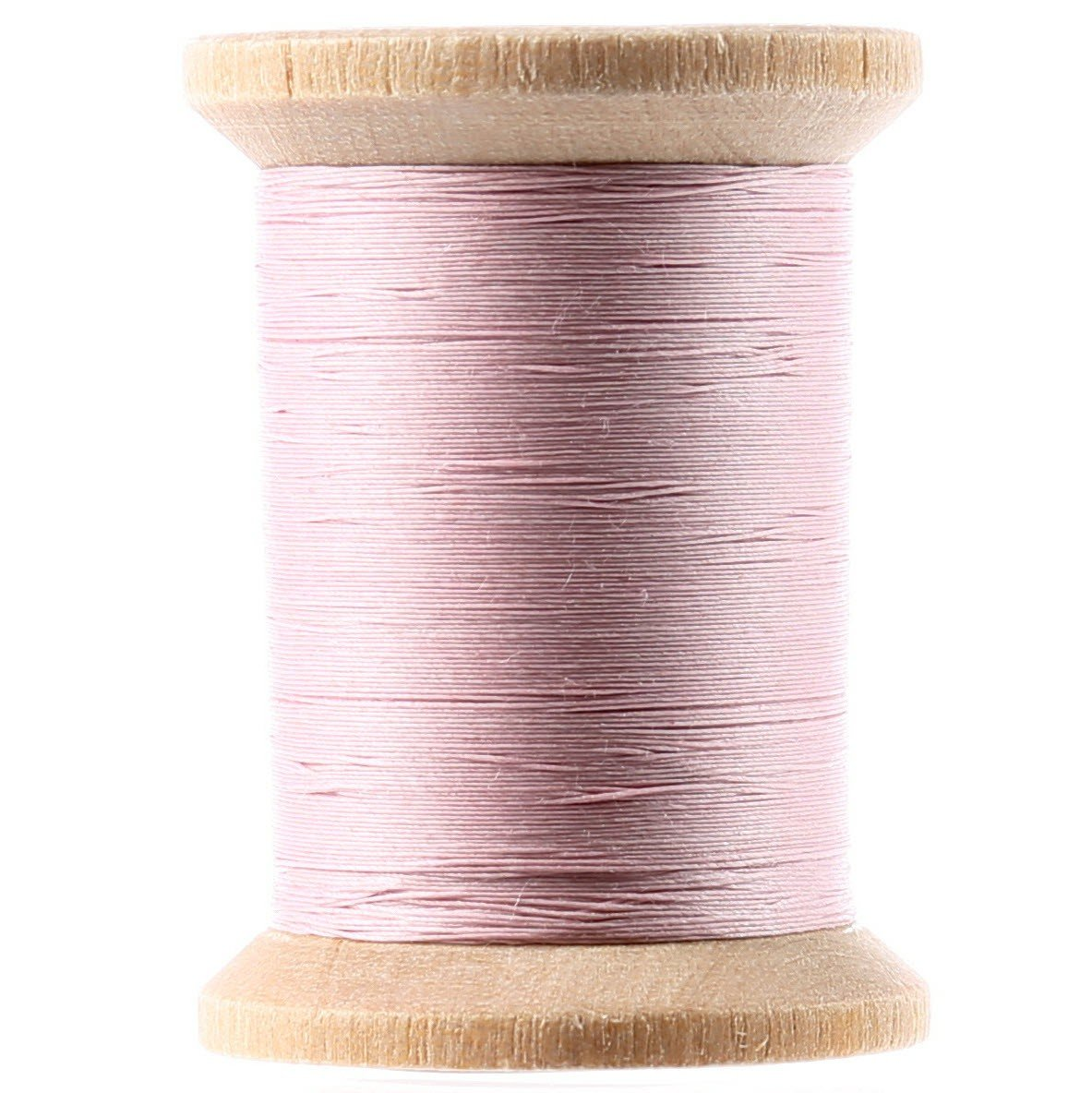 Cotton Hand Quilting Thread 3-ply T-40 400yds Light Pink
