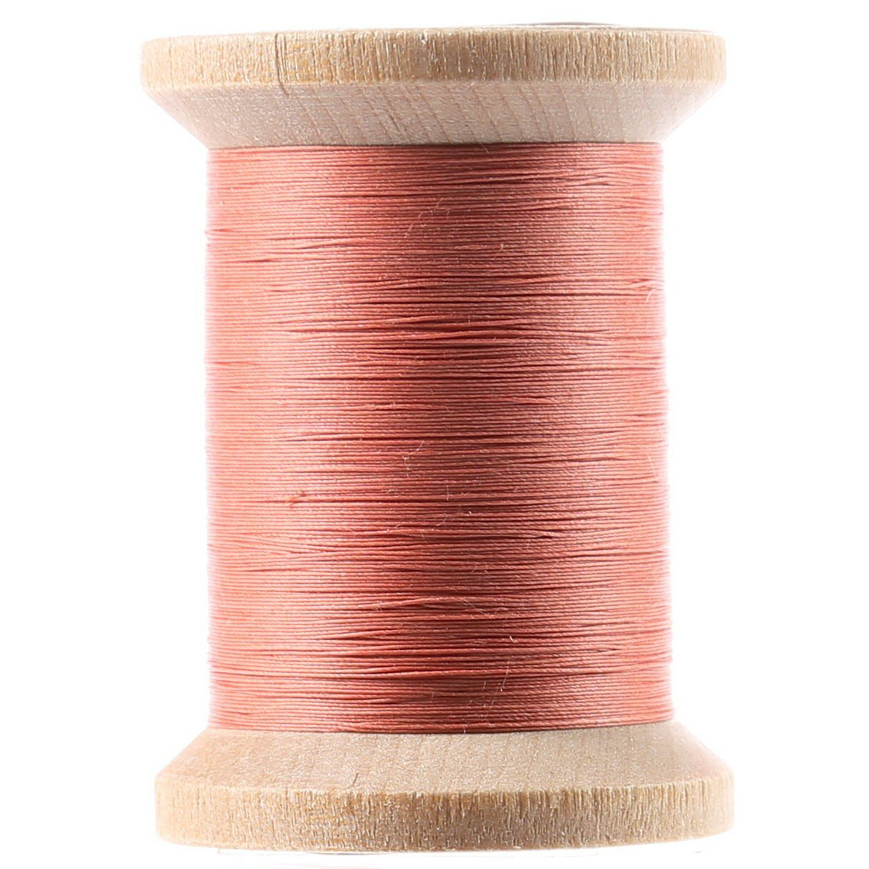 Cotton Hand Quilting Thread 3-ply T-40 400yds Coral