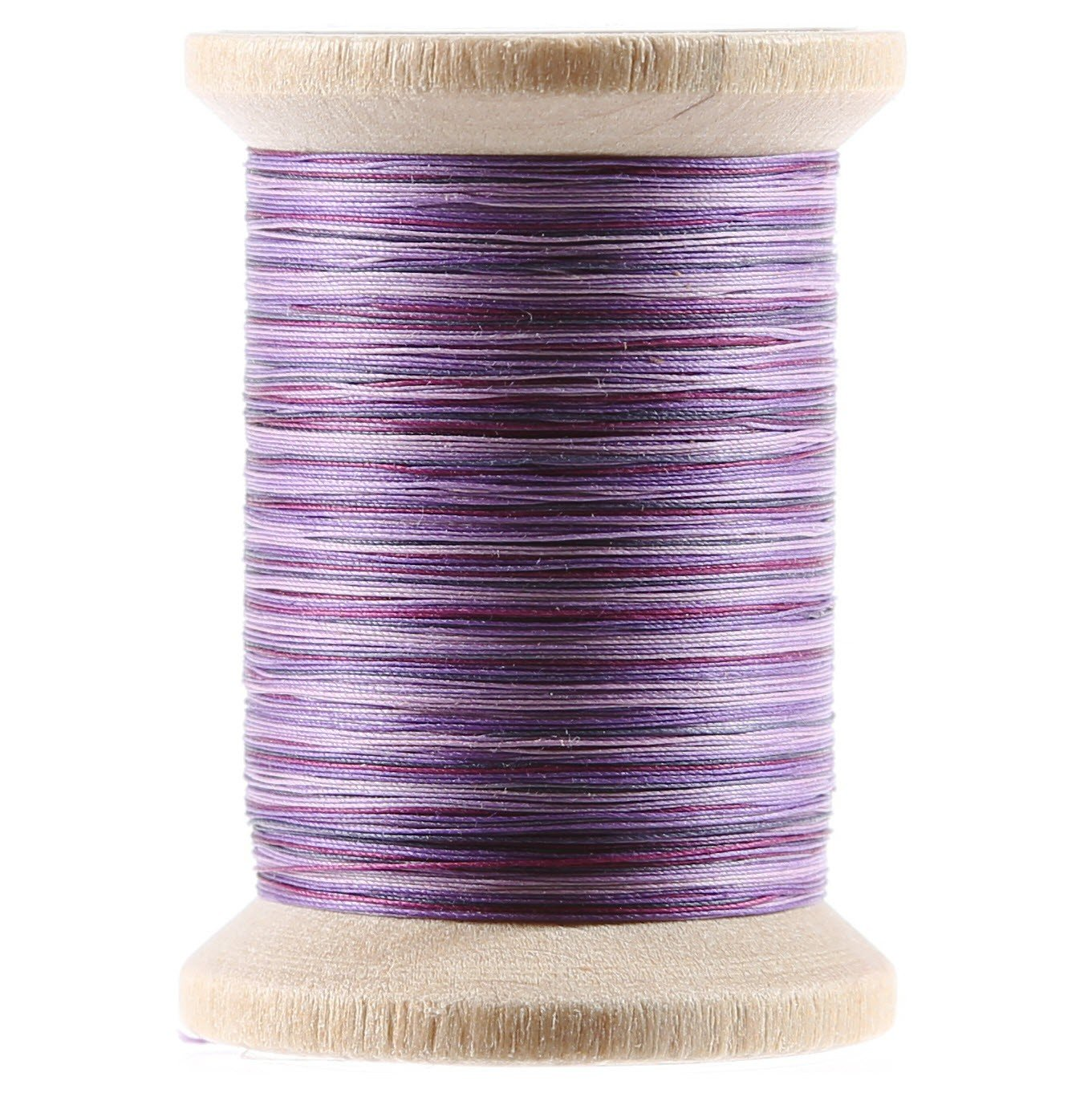 Variegated Cotton Hand Quilting Thread 400yds Purples
