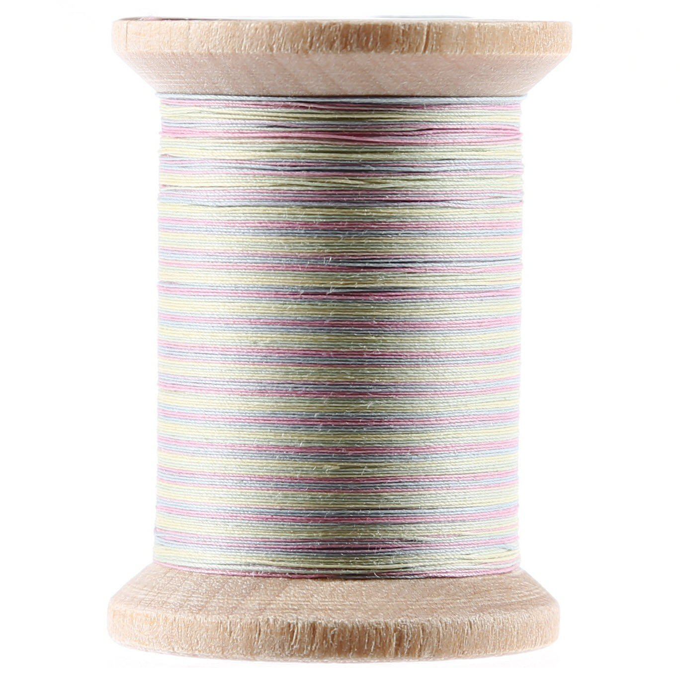 Variegated Cotton Hand Quilting Thread 400yds Pastels