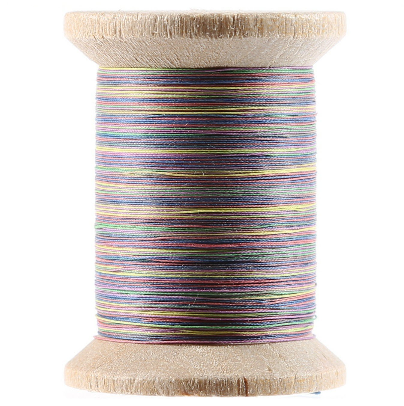 Variegated Cotton Hand Quilting Thread 400yds Primaries