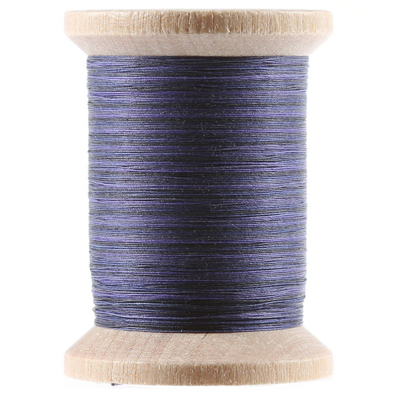 Variegated Cotton Hand Quilting Thread 400yds Blues