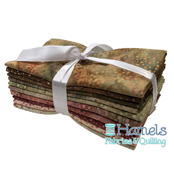 Dot Batiks - African Desert Fat Quarter Bundle