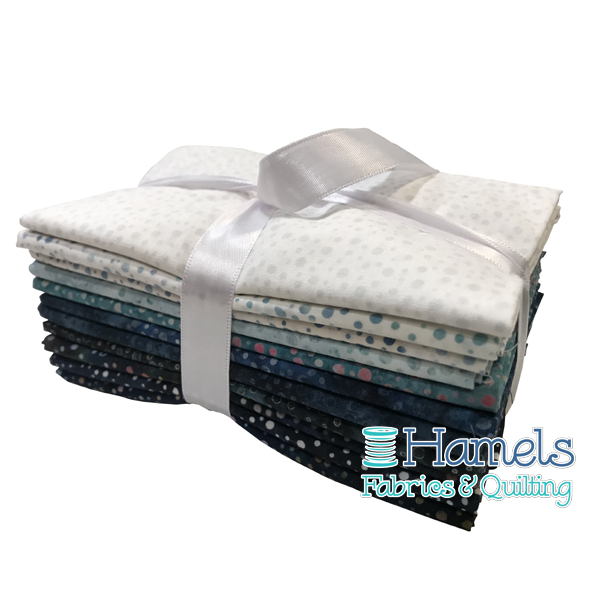 Dot Batiks - A Taste of Winter Fat Quarter Bundle
