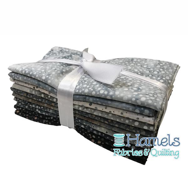 Dot Batiks - Riverbed Fat Quarter Bundle