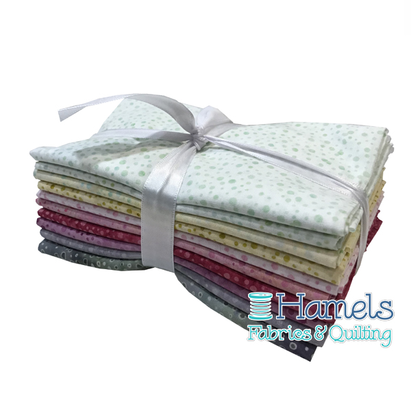 Dot Batiks - Spring Blossom Fat Quarter Bundle