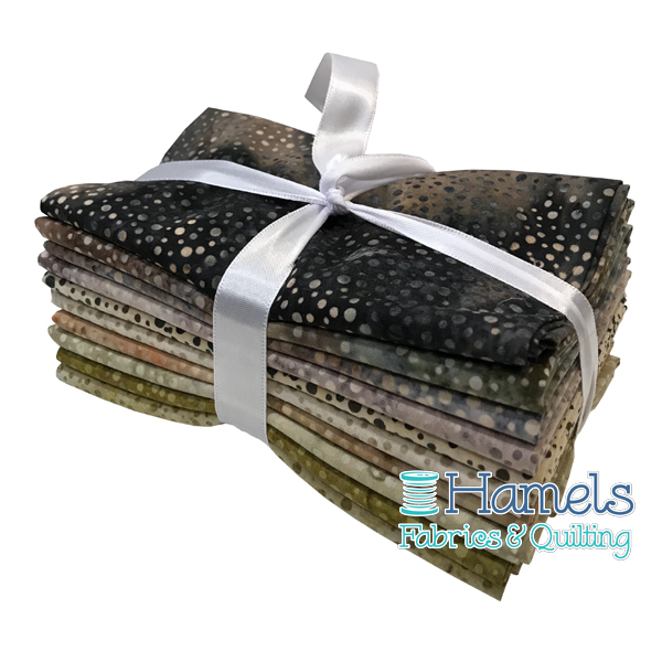 Dot Batiks - Earthscapes Fat Quarter Bundle