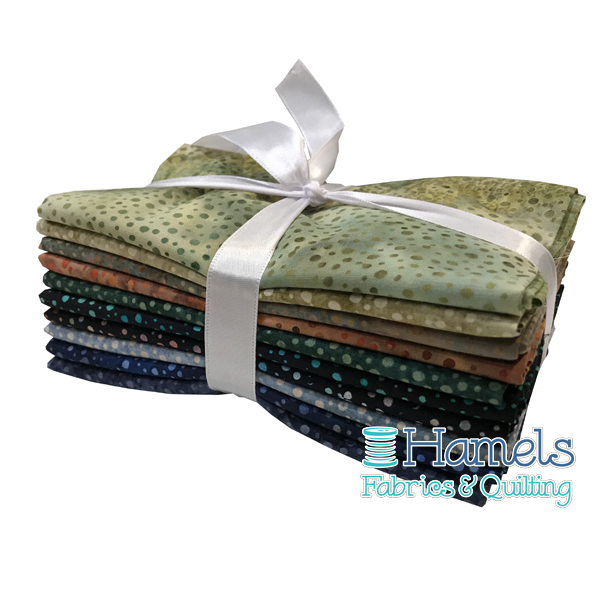 Dot Batiks - Autumn in Canada Fat Quarter Bundle