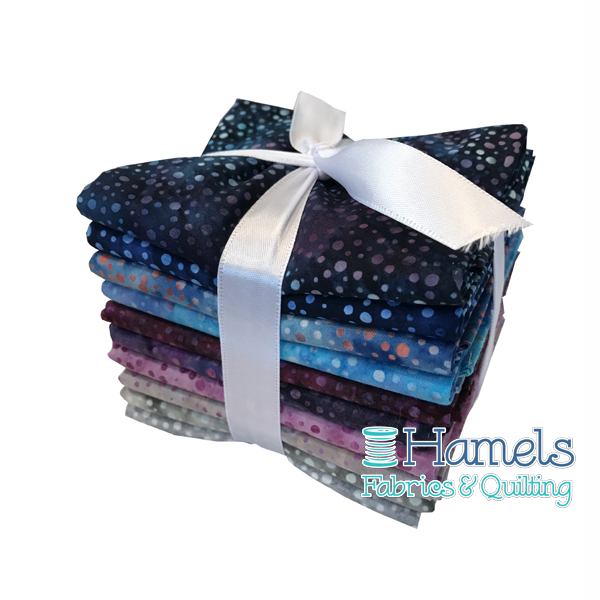 Dot Batiks - Summer Breeze Fat Quarter Bundle