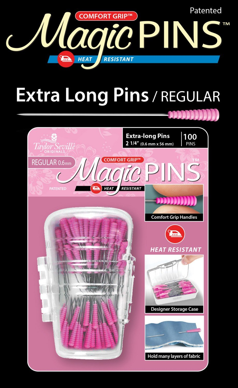 Magic Pins Extra Long Regular 100pc
