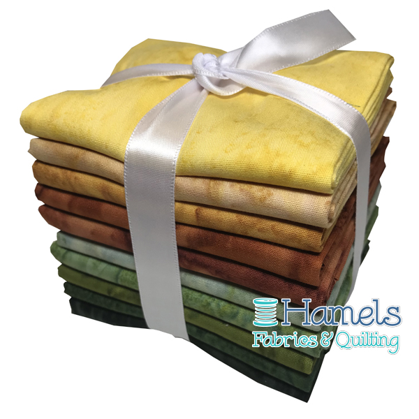 Bali Watercolor - Sunrise Fat Quarter Bundle