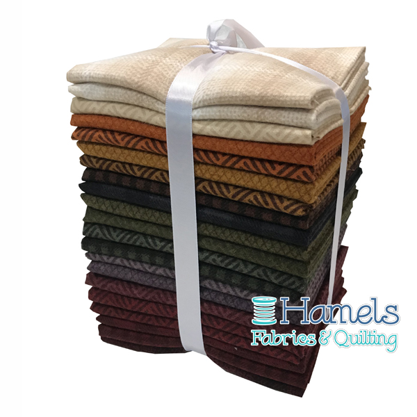 Wool and Needle V Flannel Fat Quarter Bundle