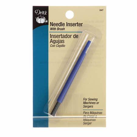 Needle Inserter with Brush