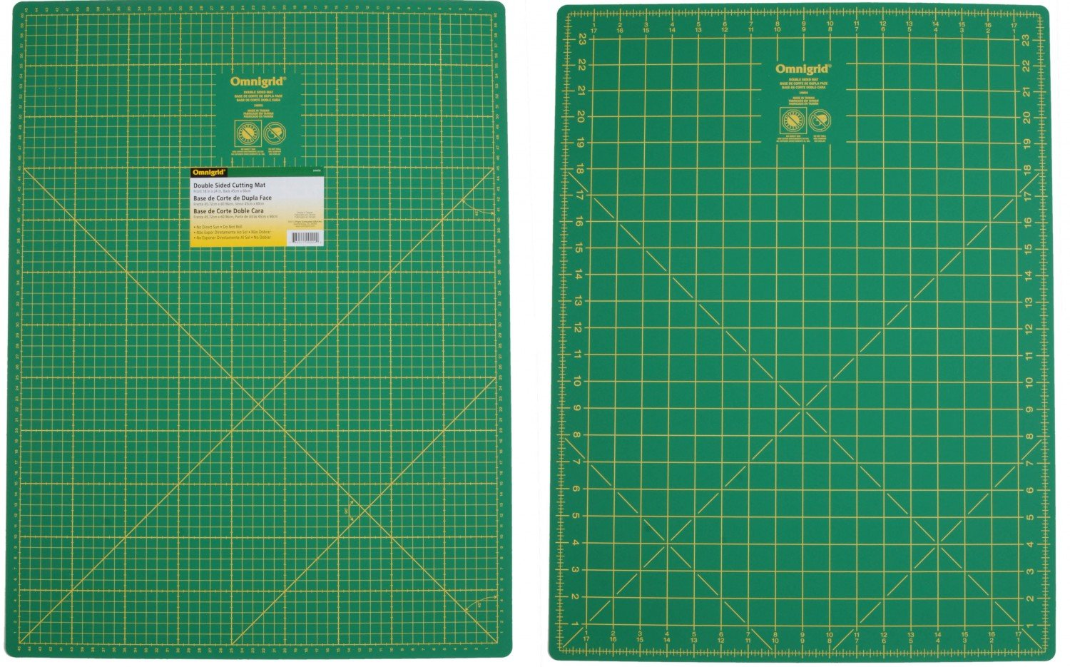 Cutting Mat Omnigrid Double Sided 18in x 24in