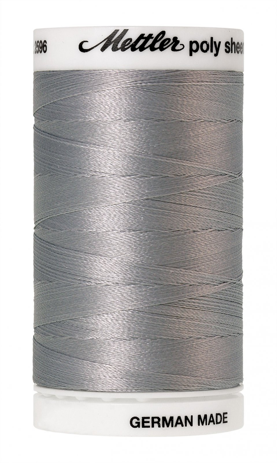 Poly Sheen Polyester Embroidery Thread 40wt 140d 800m/875yds Sterling