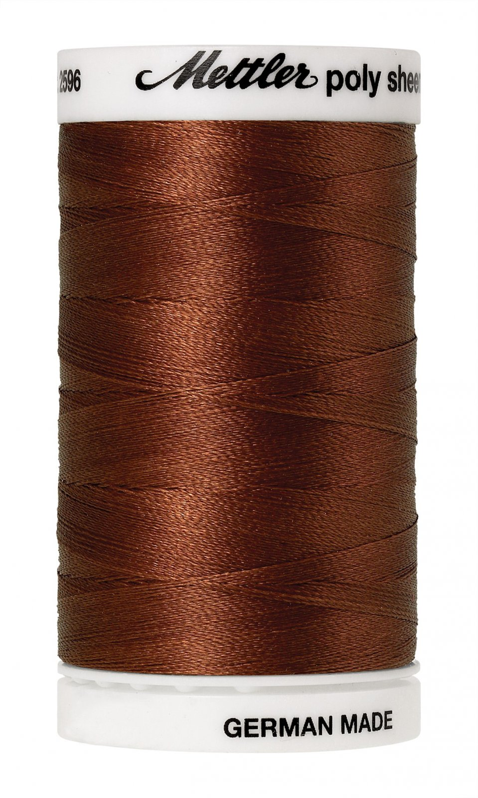 Poly Sheen Polyester Embroidery Thread 40wt 140d 800m/875yds Rust