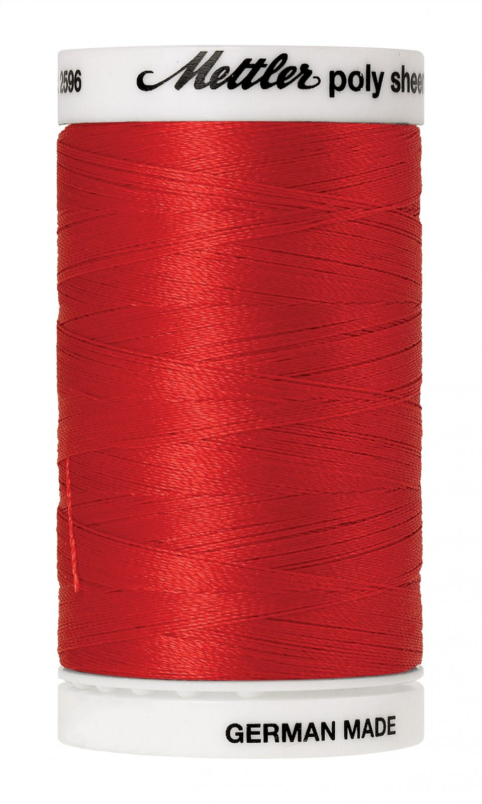 Poly Sheen Polyester Embroidery Thread 40wt 140d 800m/875yds Poppy