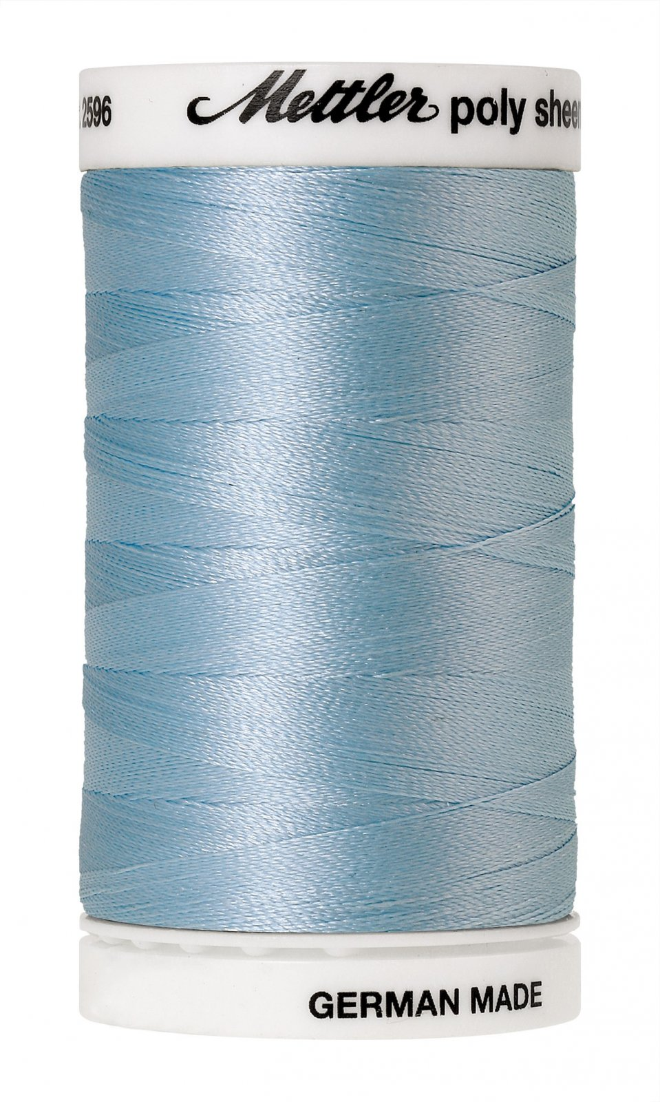 Poly Sheen Polyester Embroidery Thread 40wt 140d 800m/875yds River Mist