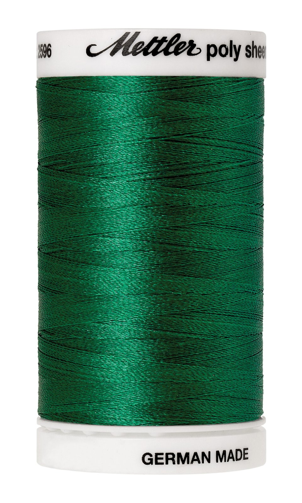 Poly Sheen Polyester Embroidery Thread 40wt 140d 800m/875yds Irish Green