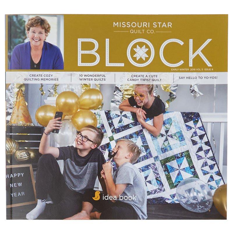 Missouri Star Block Magazine Vol 5 Issue 6