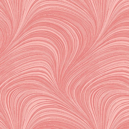 Wave Texture Wide -  Red - 2966W-10