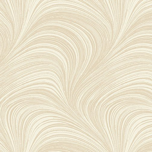 Wave Texture Wide - Bisque - 2966W-70