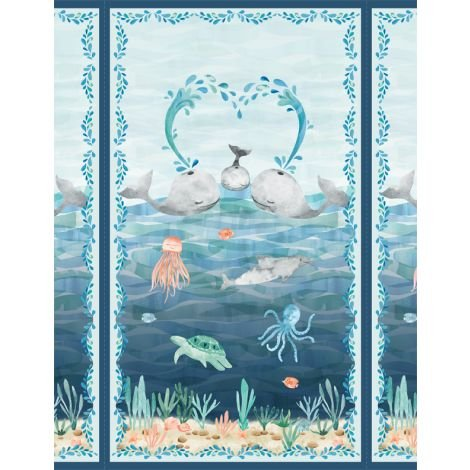 Whaley Loved - Large Panel - Multi  - 17050-419
