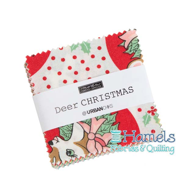 Deer Christmas Mini Charm Pack