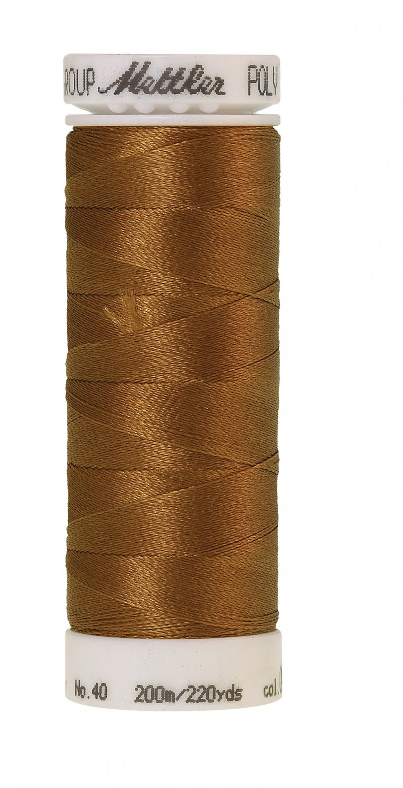 Poly Sheen Polyester Embroidery Thread 40wt 200M/220yd Golden Grain