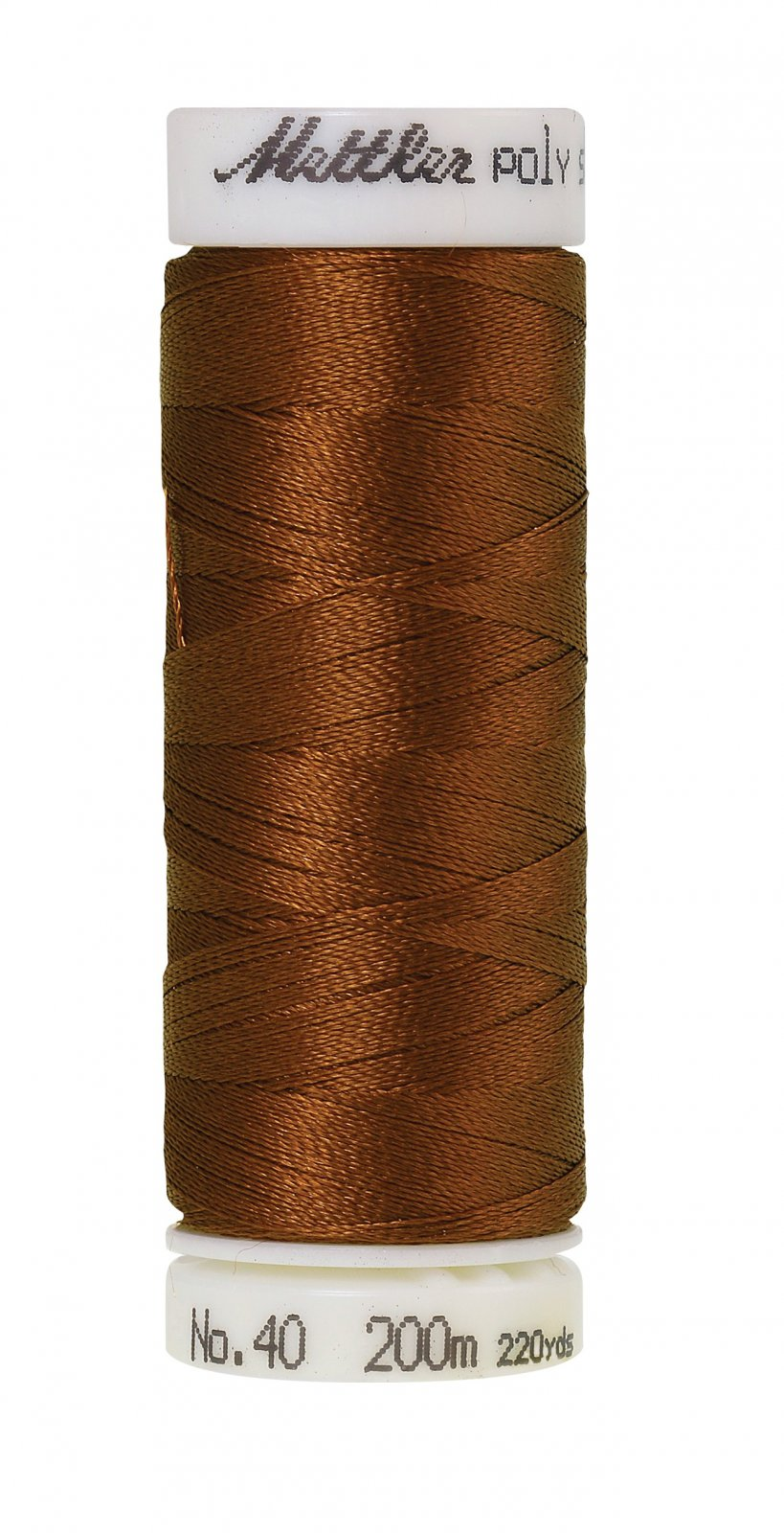 Poly Sheen Polyester Embroidery Thread 40wt 200M/220yd Light Cocoa
