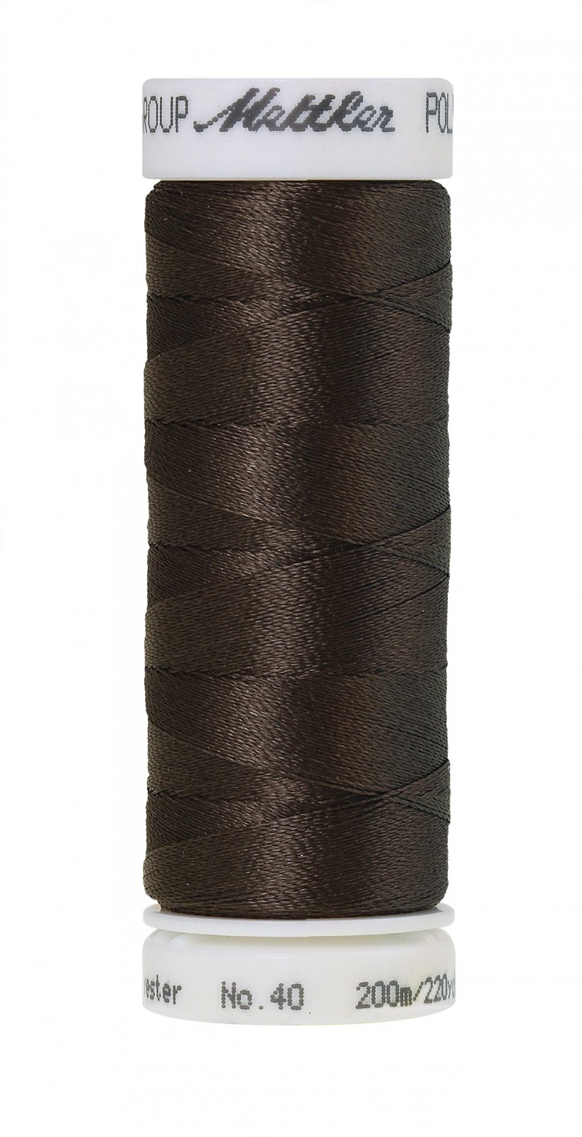 Poly Sheen Polyester Embroidery Thread 40wt 200M/220yd Dark Charcoal