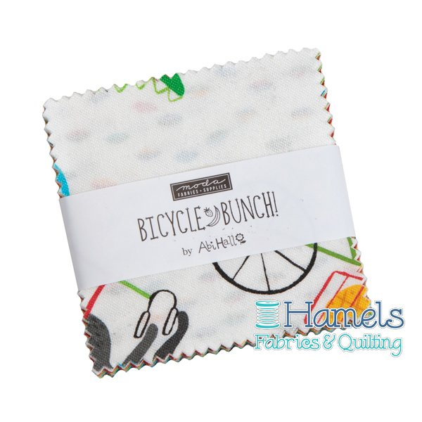 Bicycle Bunch Mini Charm Pack