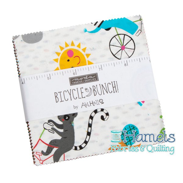 Bicycle Bunch Charm Pack
