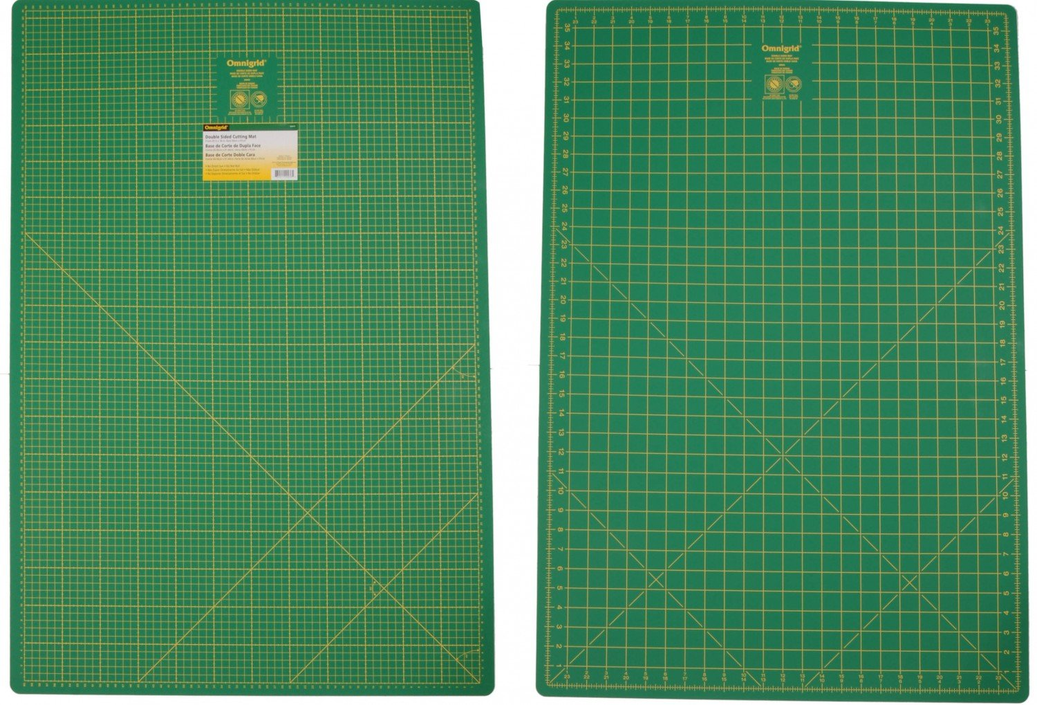 Cutting Mat Omnigrid Double Sided 24in x 36in
